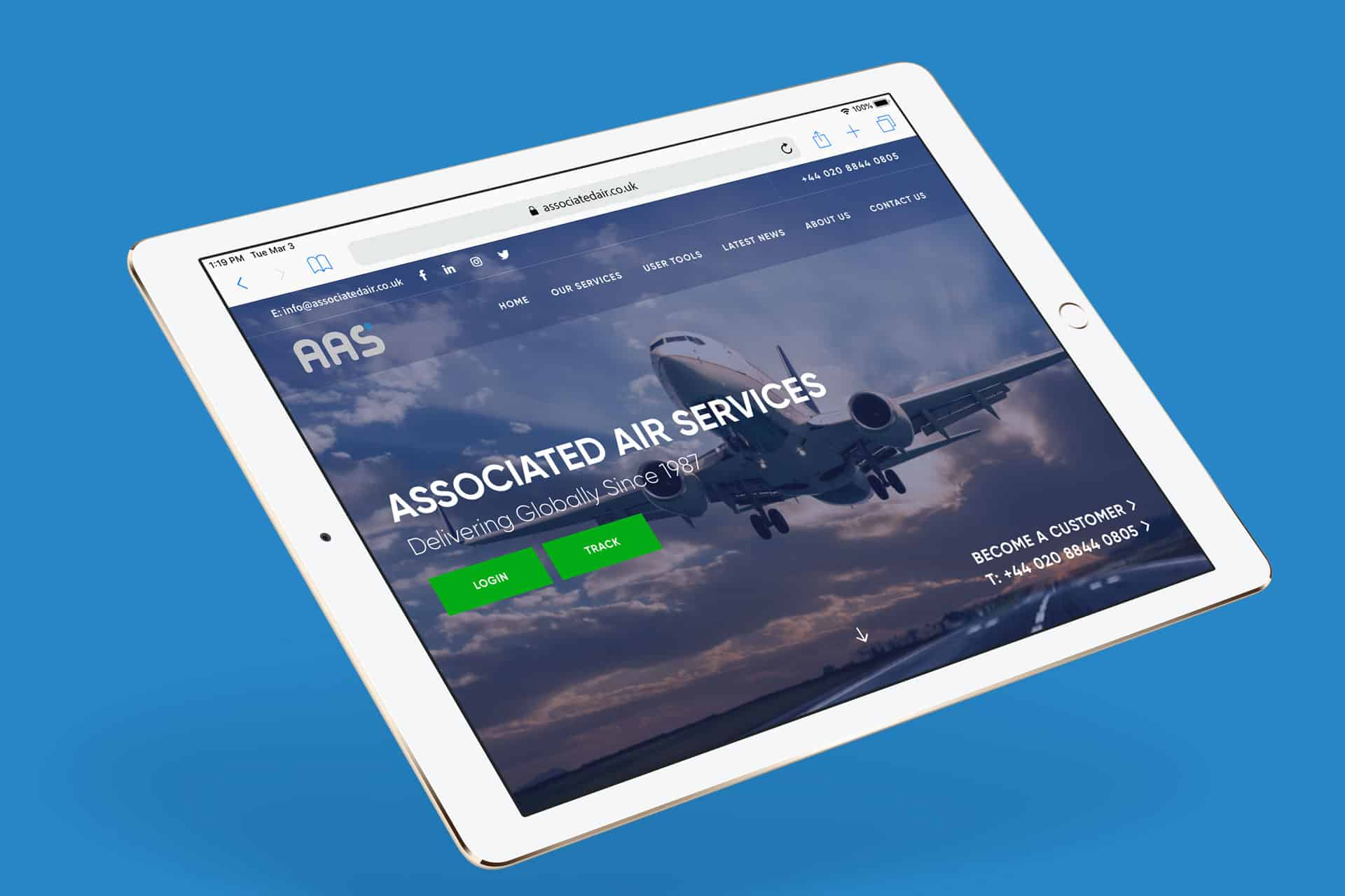 New Associated Air Services Website is Live