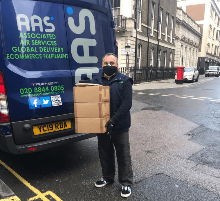 How to use a courier service to help you through the coronavirus crisis